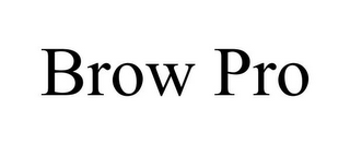mark for BROW PRO, trademark #86359316