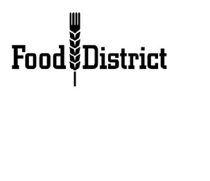 mark for FOOD DISTRICT, trademark #86360978