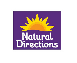 mark for NATURAL DIRECTIONS, trademark #86361840
