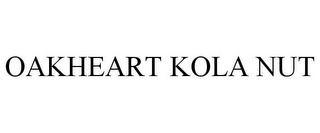 mark for OAKHEART KOLA NUT, trademark #86365401