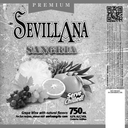 mark for SEVILLANA, trademark #86370912
