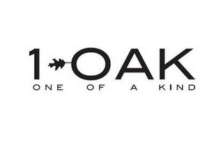 mark for 1 OAK ONE OF A KIND, trademark #86375247