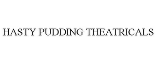 mark for HASTY PUDDING THEATRICALS, trademark #86384116