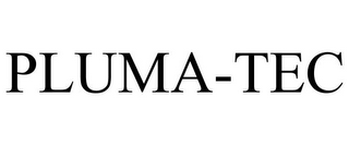 mark for PLUMA-TEC, trademark #86387037