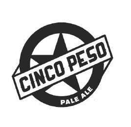 mark for CINCO PESO PALE ALE, trademark #86390804