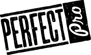 mark for PERFECT PRO, trademark #86399369