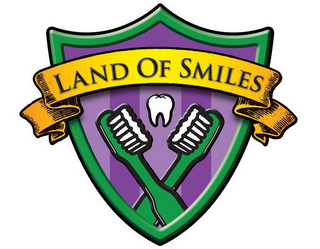 mark for LAND OF SMILES, trademark #86402846