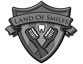 mark for LAND OF SMILES, trademark #86402851