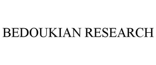 mark for BEDOUKIAN RESEARCH, trademark #86404870