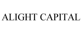 mark for ALIGHT CAPITAL, trademark #86405007