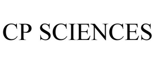 mark for CP SCIENCES, trademark #86410360