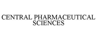 mark for CENTRAL PHARMACEUTICAL SCIENCES, trademark #86410364