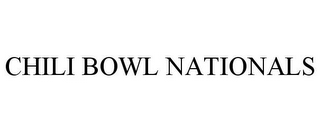 mark for CHILI BOWL NATIONALS, trademark #86424205