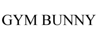 mark for GYM BUNNY, trademark #86424989