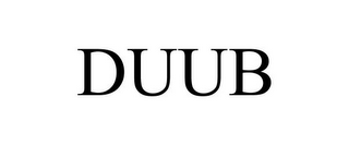 mark for DUUB, trademark #86429001