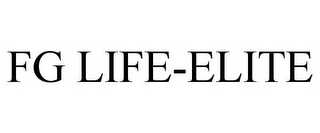 mark for FG LIFE-ELITE, trademark #86445384