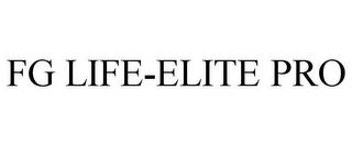 mark for FG LIFE-ELITE PRO, trademark #86446881