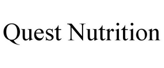 mark for QUEST NUTRITION, trademark #86462410