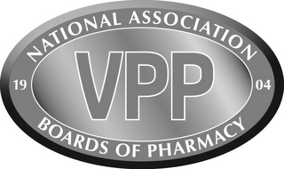 mark for VPP 1904 NATIONAL ASSOCIATION BOARDS OF PHARMACY, trademark #86468015