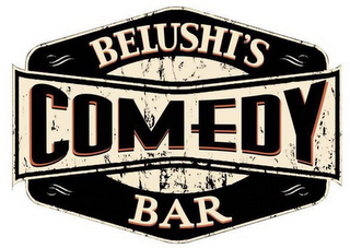 mark for BELUSHI'S COMEDY BAR, trademark #86474333