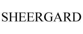 mark for SHEERGARD, trademark #86478796