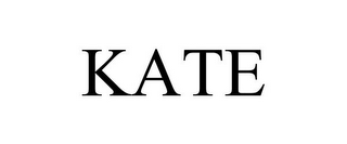 mark for KATE, trademark #86478955