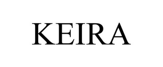 mark for KEIRA, trademark #86479051