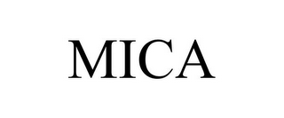mark for MICA, trademark #86482702