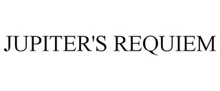 mark for JUPITER'S REQUIEM, trademark #86498942