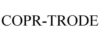 mark for COPR-TRODE, trademark #86517681