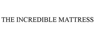 mark for THE INCREDIBLE MATTRESS, trademark #86522478