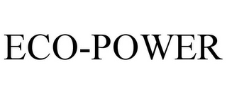 mark for ECO-POWER, trademark #86532066