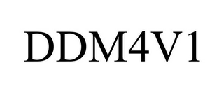 mark for DDM4V1, trademark #86543834