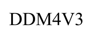 mark for DDM4V3, trademark #86544336