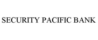 mark for SECURITY PACIFIC BANK, trademark #86551654