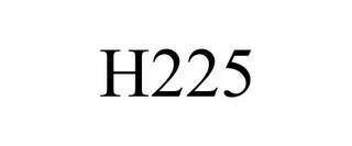 mark for H225, trademark #86551920