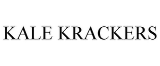 mark for KALE KRACKERS, trademark #86554385
