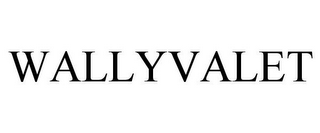 mark for WALLYVALET, trademark #86554620