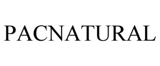 mark for PACNATURAL, trademark #86555406