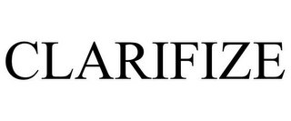 mark for CLARIFIZE, trademark #86575956