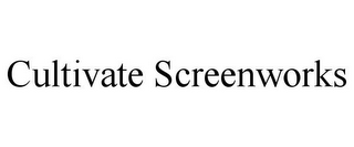 mark for CULTIVATE SCREENWORKS, trademark #86590170