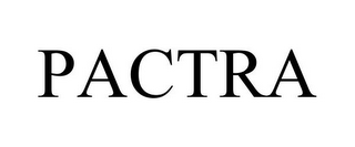 mark for PACTRA, trademark #86603240
