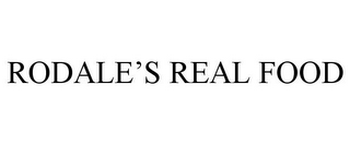 mark for RODALE'S REAL FOOD, trademark #86622063
