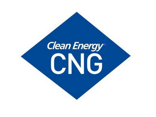 mark for CLEAN ENERGY CNG, trademark #86623572