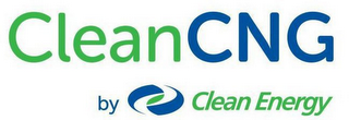 mark for CLEANCNG BY CLEAN ENERGY, trademark #86627134
