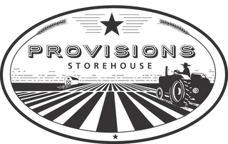 mark for PROVISIONS STOREHOUSE, trademark #86636863