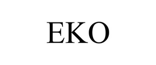 mark for EKO, trademark #86640314