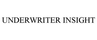 mark for UNDERWRITER INSIGHT, trademark #86651720