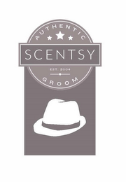mark for AUTHENTIC SCENTSY GROOM, EST. 2004, trademark #86653019
