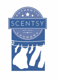 mark for AUTHENTIC SCENTSY LAUNDRY, EST. 2004, trademark #86654803